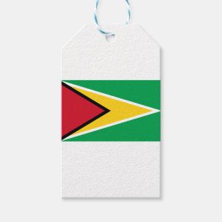 Etiqueta Para Presente Bandeira de Guyana