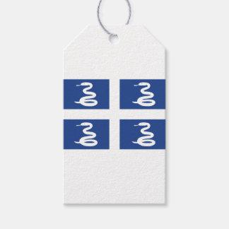 Etiqueta Para Presente Bandeira de Martinica