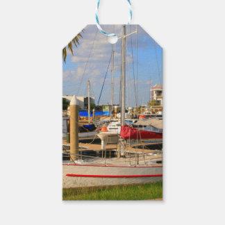Etiqueta Para Presente Barcos no porto, Darwin, Austrália