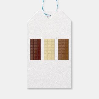Etiqueta Para Presente Bares de chocolate