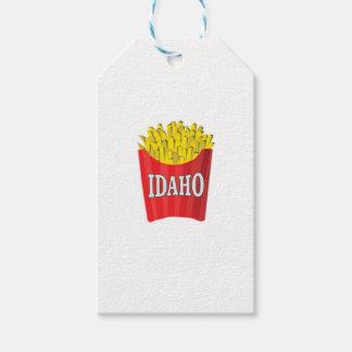 Etiqueta Para Presente batatas fritas de idaho