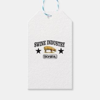 Etiqueta Para Presente bebê da indústria dos suínos