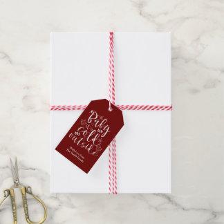 Etiqueta Para Presente Bebê seu feriado bonito do Natal da parte externa