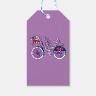 Etiqueta Para Presente Bicicleta