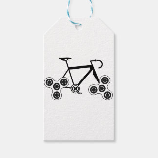 Etiqueta Para Presente Bicicleta do girador da inquietação
