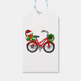 Etiqueta Para Presente bicicleta do xmas