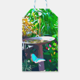 Etiqueta Para Presente Birdbath em Key West