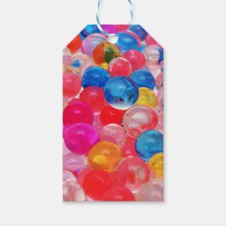 Etiqueta Para Presente bolas da geléia da textura