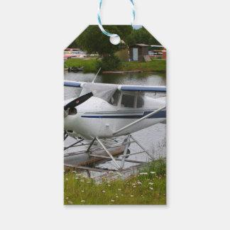 Etiqueta Para Presente Branco, marinho & plano cinzento do flutuador,
