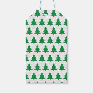 Etiqueta Para Presente branco novo do verde do design do Natal