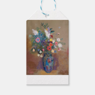 Etiqueta Para Presente Buquê das flores - Odilon Redon