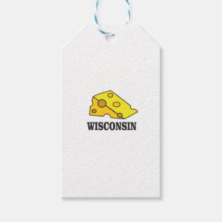Etiqueta Para Presente Cabeça do queijo de Wisconsin