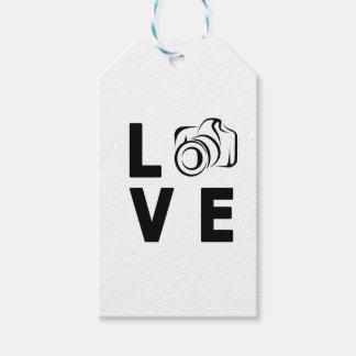Etiqueta Para Presente câmera e amor