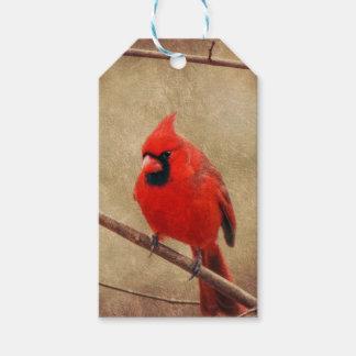 Etiqueta Para Presente Cardinal