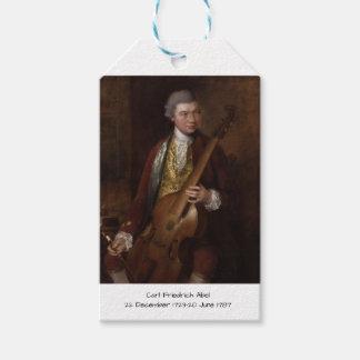 Etiqueta Para Presente Carl Friedrich Abel