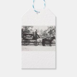 Etiqueta Para Presente Carro fúnebre