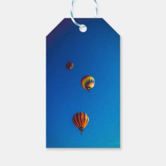Etiqueta Para Presente Cartão de presente dos balões de ar quente