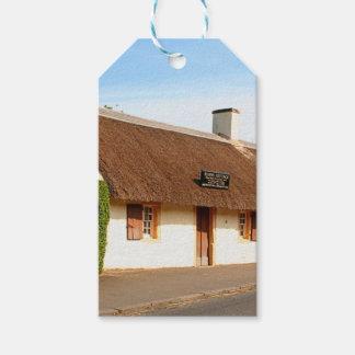 Etiqueta Para Presente Casa de campo de Robert Burns, Alloway, Scotland
