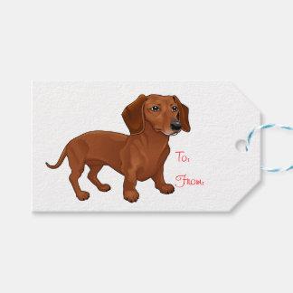 Etiqueta Para Presente Casamento do partido do cão de filhote de cachorro