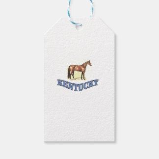 Etiqueta Para Presente Cavalo de Kentucky