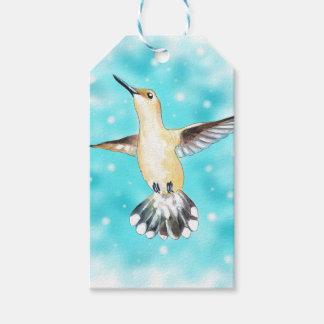 Etiqueta Para Presente Céu do colibri