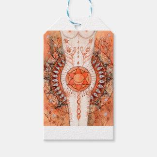 Etiqueta Para Presente Chakra sacral