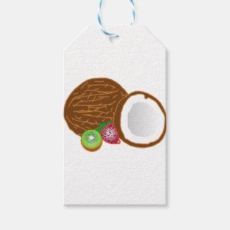 Etiqueta Para Presente Cocos tropicais do quivi
