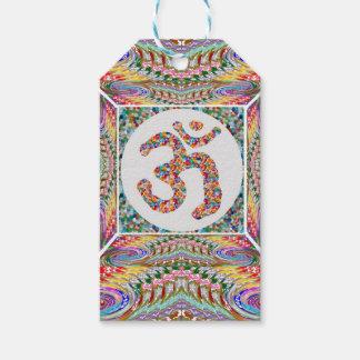 Etiqueta Para Presente Coleção da jóia da mantra do OM
