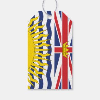 Etiqueta Para Presente Columbia Britânica
