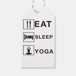 Etiqueta Para Presente Coma a ioga do sono