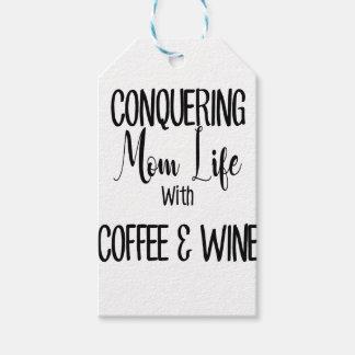 Etiqueta Para Presente Conquistando MomLife no café & no vinho