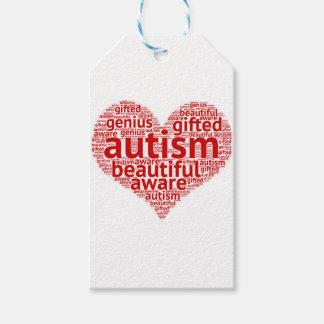 Etiqueta Para Presente Consciência do autismo