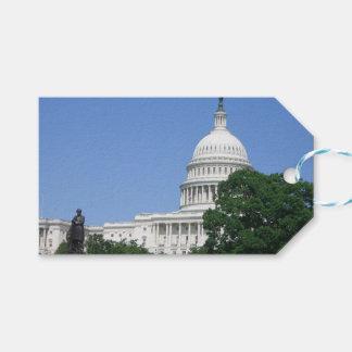 Etiqueta Para Presente Construção do Capitólio no Washington DC