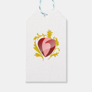 Etiqueta Para Presente coração da morango