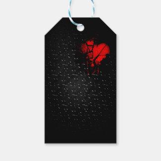 Etiqueta Para Presente Coração em quebra-cabeça perdido