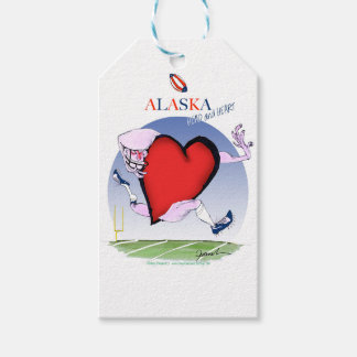 Etiqueta Para Presente coração principal de Alaska, fernandes tony