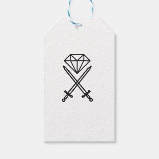 Etiqueta Para Presente Corte do diamante
