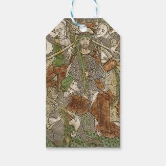 Etiqueta Para Presente Cristo coroado com espinhos