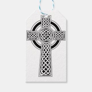 Etiqueta Para Presente Cruz celta