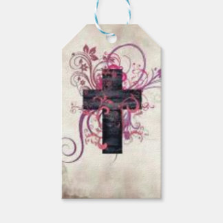 Etiqueta Para Presente Cruz decorativa