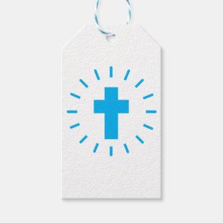 Etiqueta Para Presente Cruz do Jesus Cristo