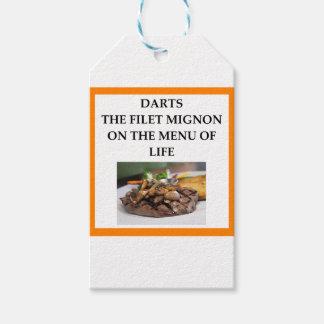 Etiqueta Para Presente dardos