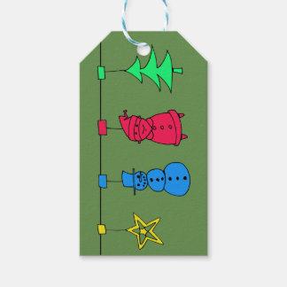Etiqueta Para Presente Decorações da árvore de Natal