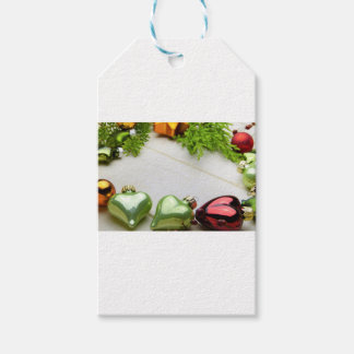 Etiqueta Para Presente decorações do Natal com um lugar para um nome
