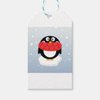 Etiqueta Para Presente Desenhistas Editon: Pinguim doce