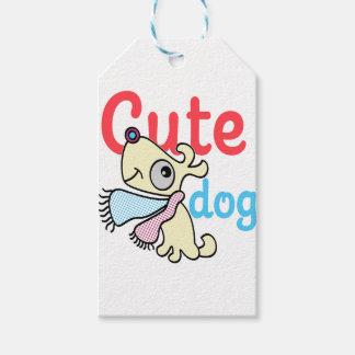 Etiqueta Para Presente design legal do cão bonito