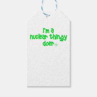 Etiqueta Para Presente Design nuclear original