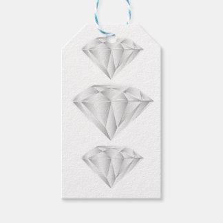 Etiqueta Para Presente Diamante branco para meu querido