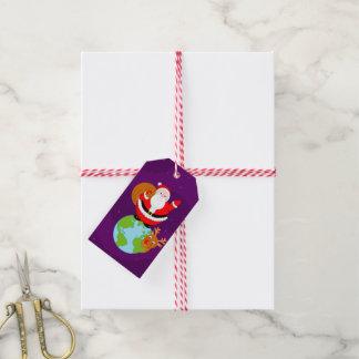 Etiqueta Para Presente Divertimento Papai Noel & desenhos animados na