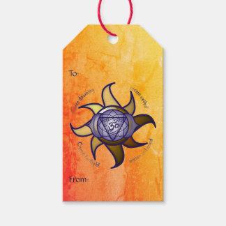 """Etiqueta Para Presente Do """"Tag do presente da introspecção da ioga"""